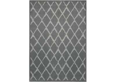 Image for Michael Amini Gleam MA601 Grey 4'x6' Area Rug