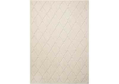 Image for Michael Amini Gleam MA601 White 5'x7' Area Rug