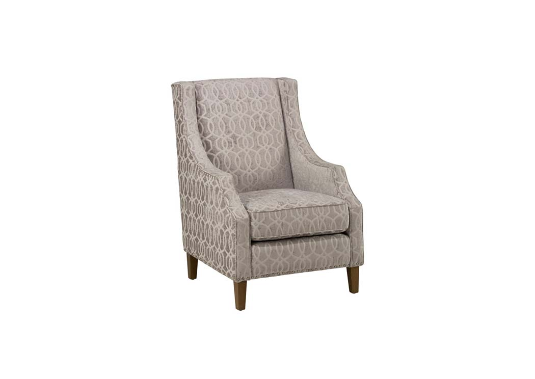 Quinn Dove Accent Chair by Jofran,Old Brick
