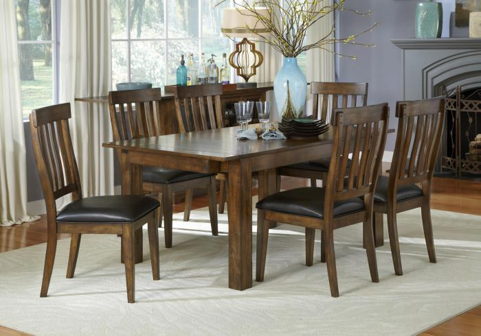 Mariposa Dining Table by AAmerica,Old Brick