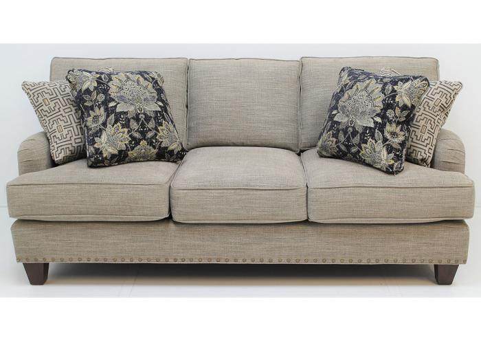 C953450 Customizable Sofa by Craftmaster,Old Brick