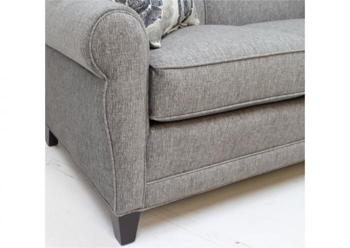 374 Sofa by Smith Brothers,Old Brick