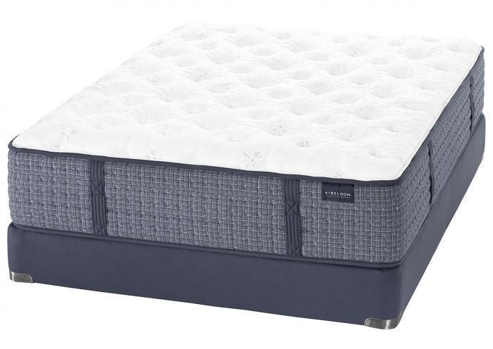 GLASSELL EXTRA FIRM KING MATTRESS BY AIRELOOM,Old Brick