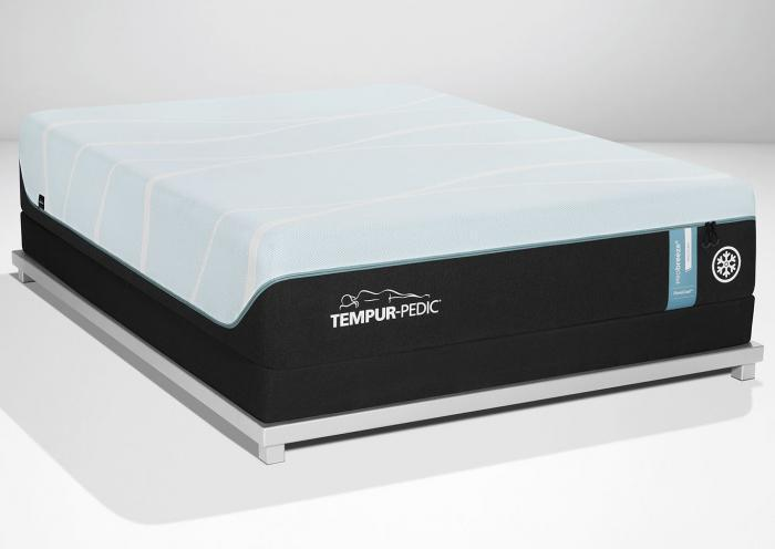 Tempur-Pro Breeze Medium Queen Mattress,Old Brick