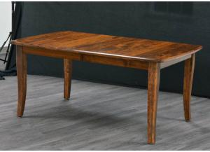 Image for Easton Pike Solid Cherry dining table by Trailway Amish
