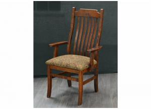 Image for Easton Pike Solid Wood Arm Chair by Trailway