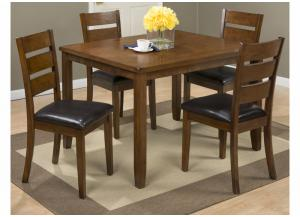 Image for 591 Plantation 5 Pc Set includes Dining Table & 4 Chairs