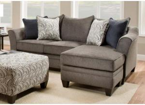 Image for 6485 Sofa Chaise with Reversible Ottoman by Lane