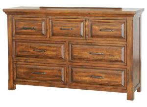 Image for Hill Crest 7 Drawer Dresser by Napa