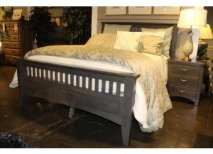 Image for Siesta Mission Solid Maple King Bed by Troyer Ridge