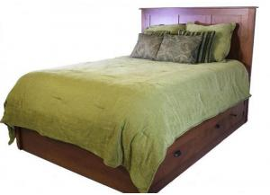 Image for Elegance Platform King Storage Bed by Daniels Amish