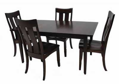 Image for Arlington 7pc Solid Maple Dining Set by Trailway Amish