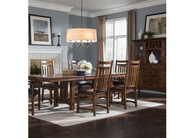 Image for OAK PARK MISSION DINING TABLE by INTERCON, INC.