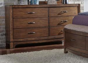 Image for AVALON 705-BR31 DRESSER 6-DRAWER   by LIBERTY FURNITURE INDUSTRIES, INC