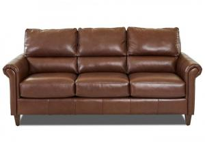 Image for Adeline All Leather Sofa by Klaussner