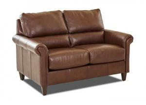 Image for 69300 LEATHER LOVESEAT by KLAUSSNER HOME FURNISHINGS