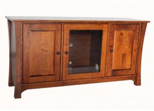 "Image for 2552 Woodbury Transitional Solid Cherry 60"" Console by Y&T Woodcraft"