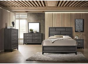 Image for AKERSON FULL SIZE BED by CME CROWN MARK INC.