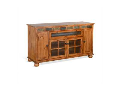 Image for Sedona Rustic Oak Console by Sunny Designs