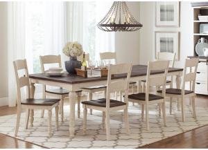 Image for Madison County 7-Piece Dining Set by Jofran
