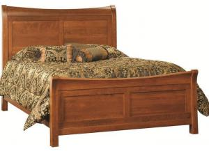 Image for Princeton Solid Wood Queen Sleigh Bed by Premier Amish