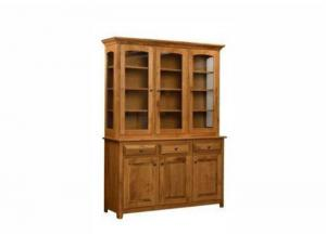 Image for Solid Cherry 2 pc Buffet and Hutch by Trailway Amish