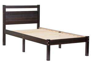 Image for Bronx Bed Twin, Java