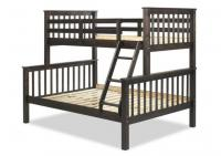 Image for Mission Twin/Full Bunk Bed, Java