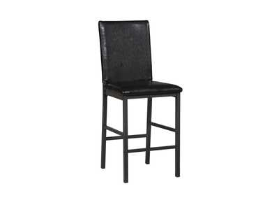 Image for Black Counter Chair (Set of 2)