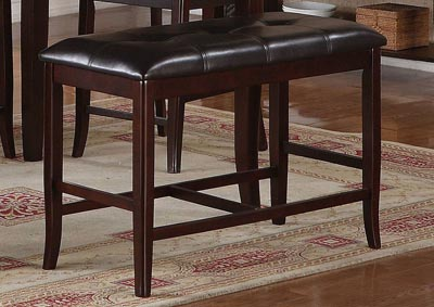 Image for Dark Brown Dining Bench