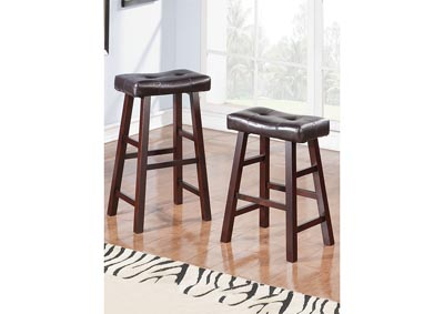 Image for Dark Cherry Counter Stool (Set of 2)