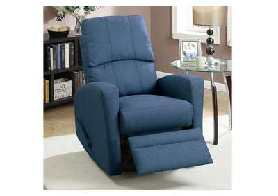 Image for Navy Motion Recliner