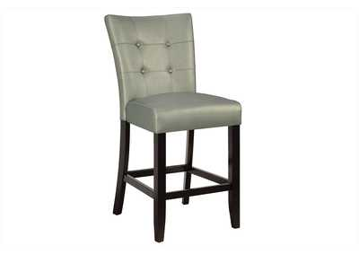 Image for Silver Counter Chair (Set of 2)