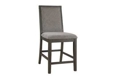 Image for Gray Backed Dining Chair