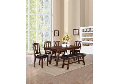 Image for Dark Cherry Dining Table