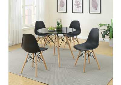Image for Black Dining Chair (Set of 4)