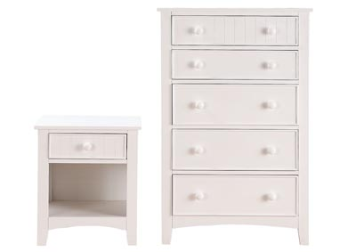 Image for White Nightstand