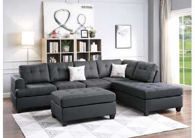 Image for Ash 3-Pieces Sectional Sofa Set