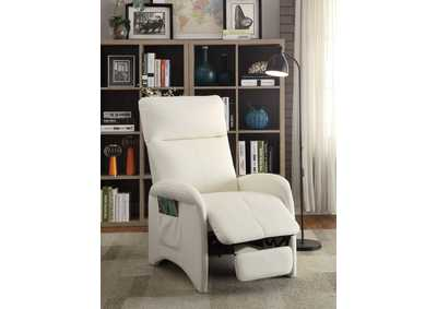 Image for White Motion Recliner