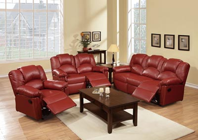 Image for Burgundy Recliner Sofa
