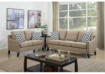 Image for Sand 2 Piece Sofa Set