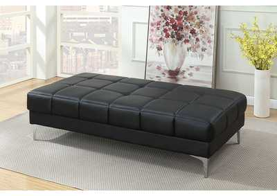 Image for Black Cocktail Ottoman