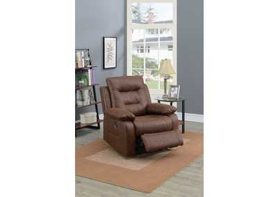 Image for Taiyus Dark Brown Power Recliner
