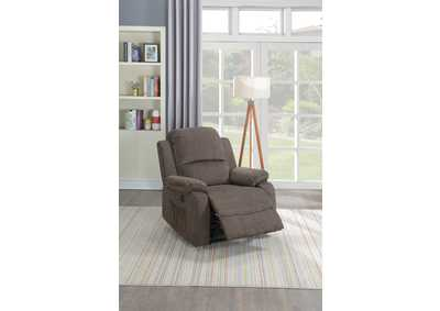 Image for Taiyus Tan Velvet Power Recliner