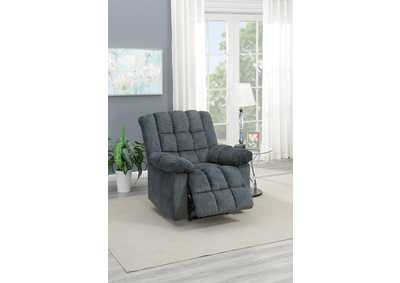 Image for Taiyus Grey Chenille Power Recliner