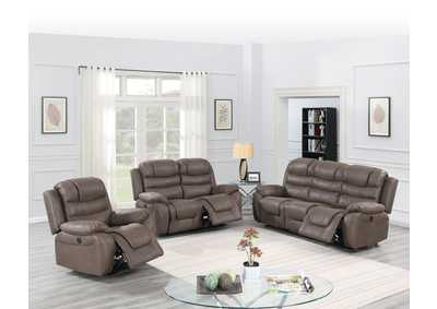 Image for Hainin Dark Coffee Power Recliner