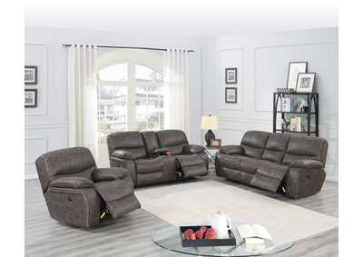 Image for Zoyart Taupe Power Recliner