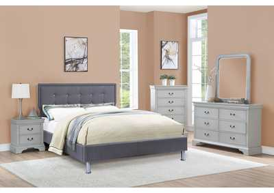 Image for Grey Nightstand