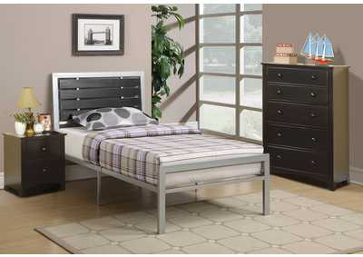 Image for Silver Twin Bed