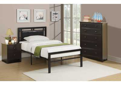 Image for Black Twin Bed
